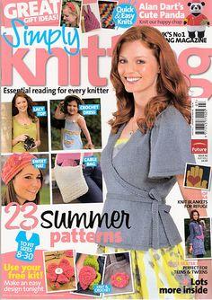 Ravelry: Simply Knitting 82, July 2011