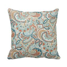 BOGO Bohemian Paisley Floral  Indoor by PrimalVogueHomeDecor, $25.00