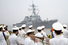 U.S. Navy Ship Bearing Message of Good Will Docks in China