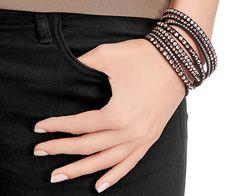 Slake Deluxe Black Bracelet - Jewelry - Swarovski Online Shop