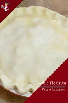 This is your basic unsweetened all-butter pie crust recipe or pate brisee dough that's rich, buttery, flaky, and tender. Today, we make a double pie crust from scratch for an apple pie #doublepiecrust #piecrust #howtopie #allbutterpiecrust #crustforpie #pastryforpie #piepastry Double Pie Crust Recipe, Pie Crust From Scratch, All Butter Pie Crust, Pie Dough Recipe, Easy Pie Crust, Homemade Pie Crusts, Pie Crust Recipes, Best Dessert Recipes, Real Food Recipes