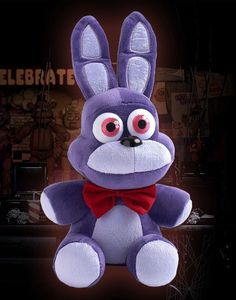 "10"" 25cm  HOT FNAF Five Nights at Freddy's BONNIE Plush Doll Stuffed Toy Gift #Unbranded"