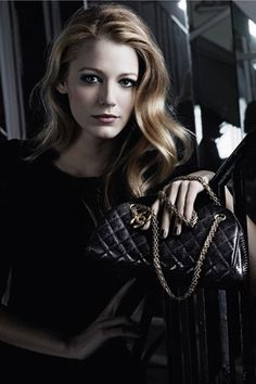 blake lively for chanel