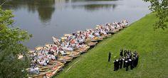A Little Night Music: Garden Kingdom Lake Concerts , Wörlitz ,Germany. Love this!!!