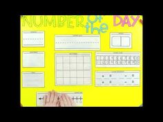 Number of the Day Poster Templates