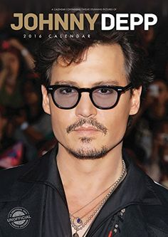 Presenting the Johnny Depp 2016 Calendar. Great gift idea for yourself or anyone who loves this uniquely talented actor.