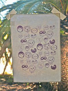 Tea Towel by Nina Bretnall