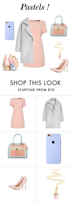 """""""Pastels!"""" by omastova-k ❤ liked on Polyvore featuring James Lakeland, MANGO, AX Paris, women's clothing, women's fashion, women, female, woman, misses and juniors"""
