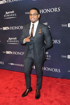 Michael all grown up (Wire fans know) Tristan Wilds at the BET Honors