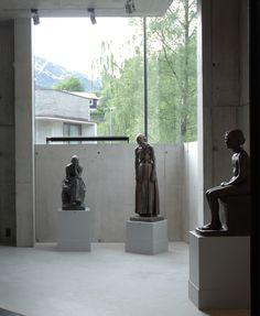 Interior - Ingebrigt Vik Museum. Kunsthuset Kabuso - Contemporary Museum. Øystese, Hordaland, 2006. Hille Strandskogen Arkitekter.