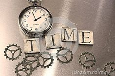 Word - Time And Watch - Download From Over 46 Million High Quality Stock Photos, Images, Vectors. Sign up for FREE today. Image: 73785302