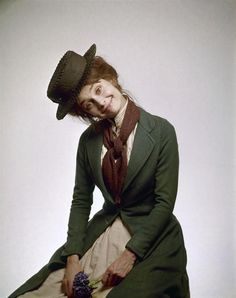 Audrey Hepburn Green Dress Color 8x10 Photograph