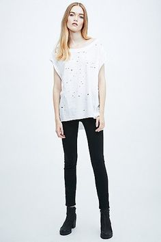 Distressed top from Urban Outfitters.  http://www.urbanoutfitters.com/uk/catalog/productdetail.jsp?id=5119400022610&parentid=WOMENS-TOPS-EU#/