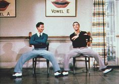 "Donald O'Connor and Gene Kelly - awesome ""Moses Supposes"" dance number"