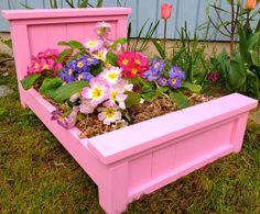 Garden Flower Bed