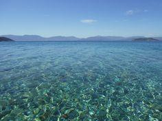 Agistri water - we love it!