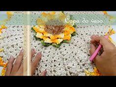 Neuma Nascimento shared a video Crochet Mandala, Crochet Doilies, Crochet Flowers, Love Crochet, Crochet Videos, Crochet Designs, Hobbies And Crafts, Crochet Projects, Crochet Earrings