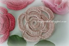 crochet+rose+pattern.JPG 640×427 pixels