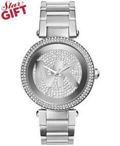 Michael Kors Women's Parker Stainless Steel Bracelet Watch 39mm MK5925 | macys.com