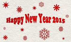 Happy New Year 2015 - Background gratuit et libre de droit offert par PubliKado