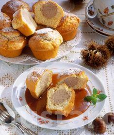 Receptek Lajos Mari konyhájából - Gesztenyés muffin rumos karamellmártással