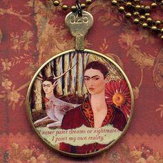 Frida Kahlo inspired jewellery.