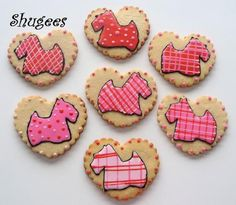 Scottish Terrier Valentines... ♥ by Shugee's Custom Cakes & Cookies ♥, via Flickr