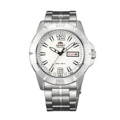Buy online #Automatic #Day & Date Orient Sports White #Watch - SEM7L005W9 @ orientwatch.in for Rs.8,842.50/-