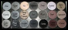 3 Types Of Makeup Palettes That You should Own: Black And Grey Makeup Palettes