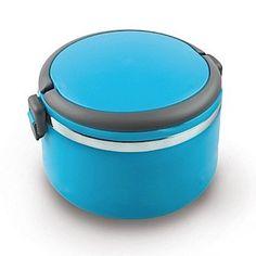 Termo Alimentos Kuken Azul PORTA-ALIMENTOS KUKEN 1,0 l. AZUL HERMÉTICO. INTERIOR INOX, 1 COMPARTIMIENTO. NO APTO PARA MICROONDAS.