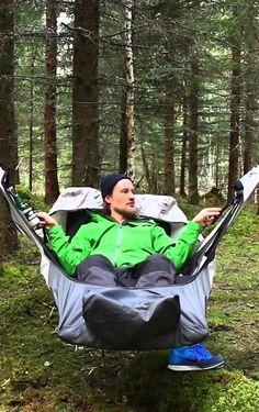 An amazing new hammock. Grab one of these before you head out to camp in Durango! Worth looking at.
