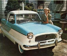 1959 Nash Metropolitan Hardtop - my Grandfather had one of these!