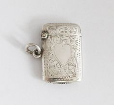 1910s Petit British Vesta Case Sterling Match by GrandpasMarket