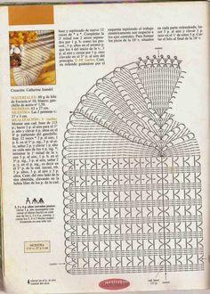 """#470 Camino de Mesa """"Cálices Enfrentados"""" a Crochet"""
