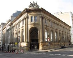 The old National Provincial Bank building opened 1885 on the corner of Bennetts Hill and Waterloo Street Birmingham England.