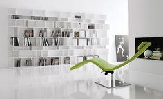 Casanova Chaise Lounge by Cattelan Italia