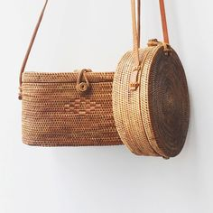 Bembien - Rose Bag and Harper Bag, handwoven rattan, leather strap Bags Online Shopping, Online Bags, Look Fashion, Fashion Bags, Basket Bag, Soft Grunge, Straw Bag, Purses And Bags, Lv Bags