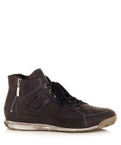 Mens leather zip trainers Sale - Cesare Paciotti
