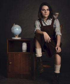 """A Guide To The Characters & Voices Of His Dark Materials The new HBO show has a sprawling cast of actors and voices. Here's who's who in """"His Dark Materials. Philip Pullman, His Dark Materials Daemon, His Dark Materials Trilogy, Ruth Wilson, Andrew Scott, James Mcavoy, Casual Styles, Mrs Coulter, Lyra Belacqua"""