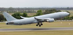 """An Australian KC-30A operates from its base at RAAF Amberley. The aircraft is cleared to refuel both """"legacy"""" and Super Hornets using its wing pods, but the boom has not yet been approved for use."""