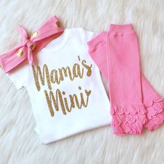 Mother's Day Onesie Mother's Day Outfit by KennedyClairesCloset