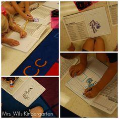 Math Journals in Kindergarten