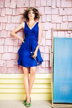 Dark blue #bridesmaid #dress