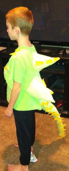 Dino costume in 30min