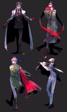 画像 Anime Guys, Manga Anime, Anime Art, 19 Days Anime, Anime Military, Drawings Of Friends, Cute Anime Chibi, Art Studies, Character Design Inspiration
