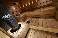 Saunagalleria I SUN SAUNA Oy I Ideoita saunaremonttiin, saunaideat Sauna Design, Design Design, Interior Design, Sauna House, Natural Swimming Pools, Natural Pools, Sauna Heater, Outdoor Sauna, Japanese Bath