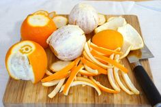 Stop Throwing Away Your Orange and Lemon Peels! They're Potent Health Boosters Orange Peels Uses, Cooking Tips, Cooking Recipes, Candied Orange Peel, Healthy Holistic Living, Organic Fruits And Vegetables, Oranges And Lemons, Real Food Recipes, Diys