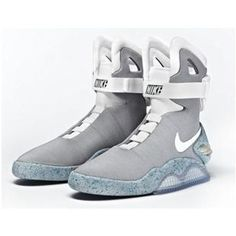 8bee1d02b0917 2012 Nike MAG Gray White Man Light Shoes Hot Sale Sport Gadget