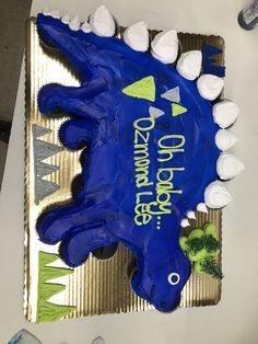 Best cupcakes decoration ideas for kids pull apart ideas – Hanukkah Dinosaur Cupcake Cake, Dino Cake, Dinosaur Birthday Cakes, Dinosaur Party, Baby Shower Cupcakes, Fun Cupcakes, Birthday Cupcakes, 4th Birthday, Birthday Parties