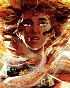 Hazel Levesque. {Drawn by Viria}